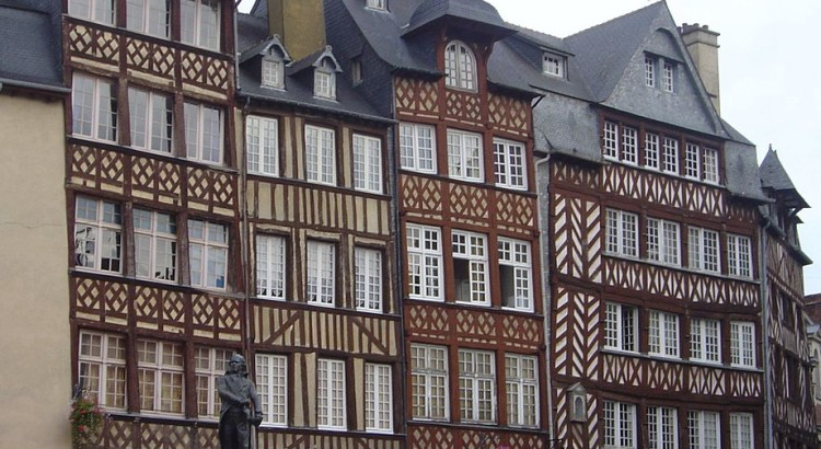 Rennes_old_houses