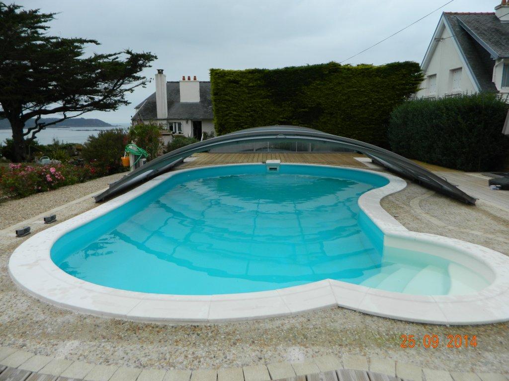 Maison vacances avec piscine locquirec location 2 for Piscine morlaix
