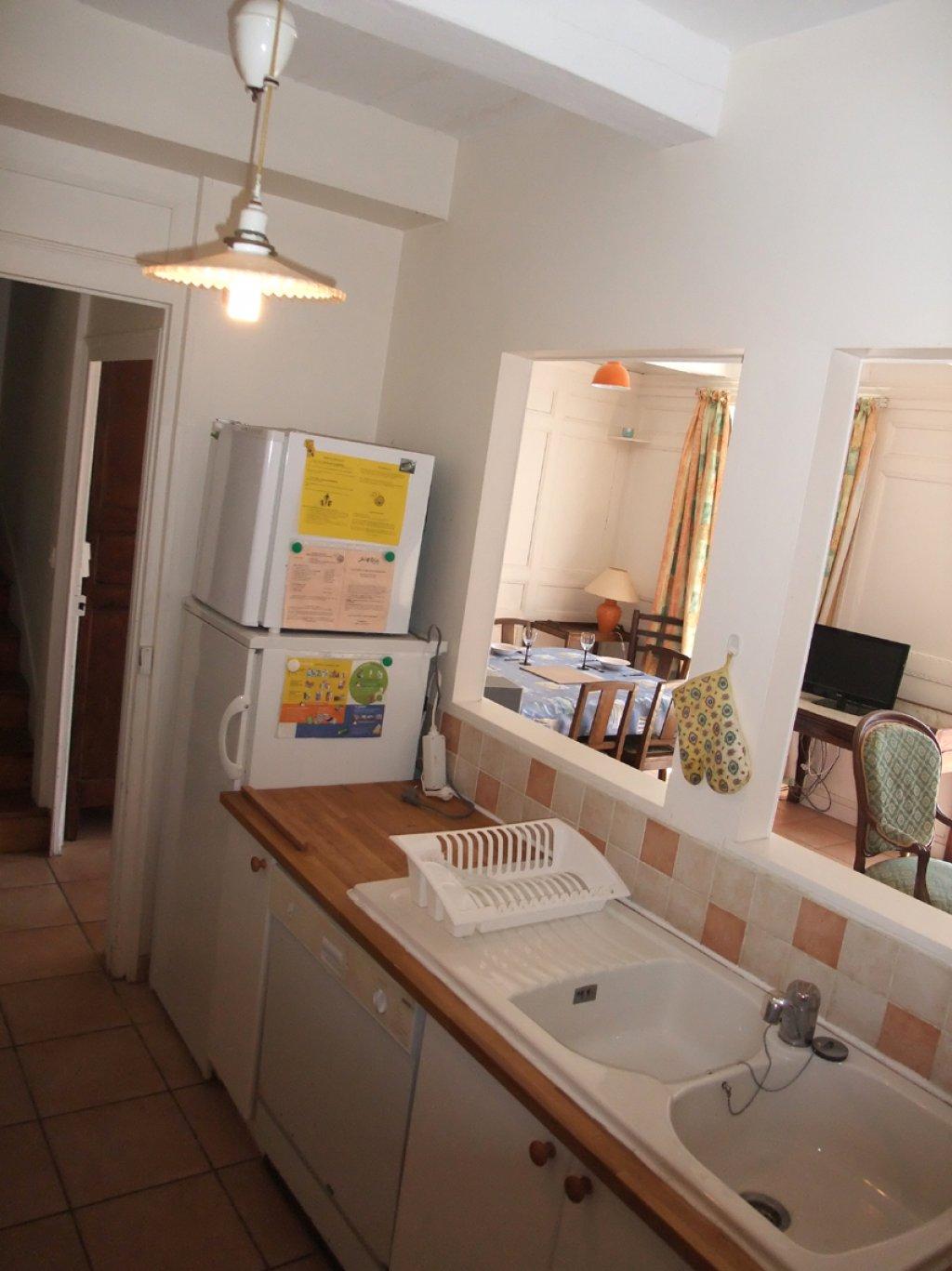 Passe plats pour cuisine location vacances maison campan - Passe plat cuisine salon ...