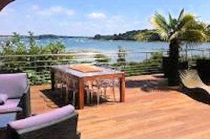 Appartement vacances avec piscine ile aux moines location for Camping golfe du morbihan avec piscine