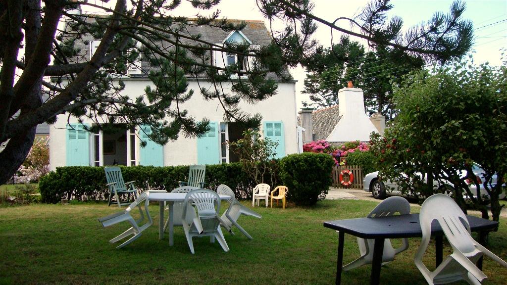 Maison vacances plougasnou location 4 personnes brigitte - Salon de jardin de la maison ...