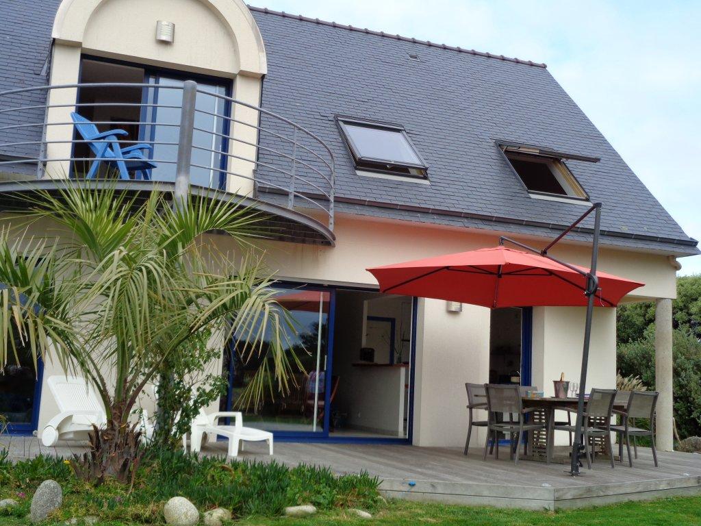 Maison vacances tr gunc location 6 personnes muriel gourlaouen for Location maison concarneau vacances