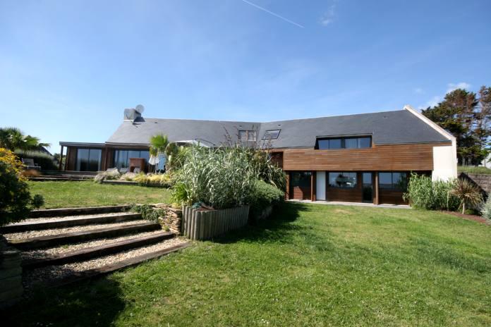 maison vacances avec piscine plouhinec 29 location 10 personnes valrie guiziou - Location Maison 10 Personnes Avec Piscine