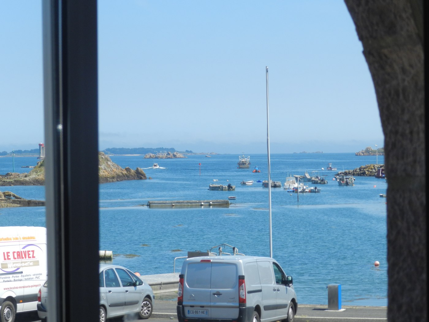 Appartement vacances loguivy de la mer location 4 personnes emmanuelle corfdir - Port de peche cote d armor ...