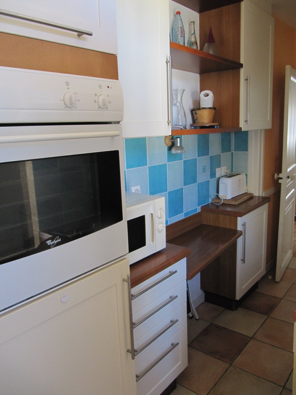 Appartement vacances dinard location 5 personnes sylviane for Tres belle cuisine equipee