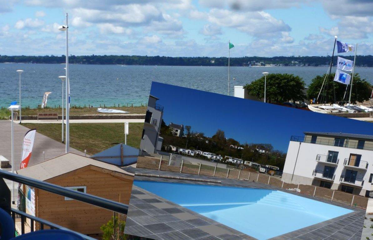 Appartement vacances avec piscine concarneau location 4 for Appartement piscine
